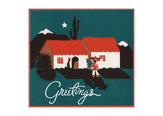 Southwest Christmas | Many More Christmas Greeting Cards