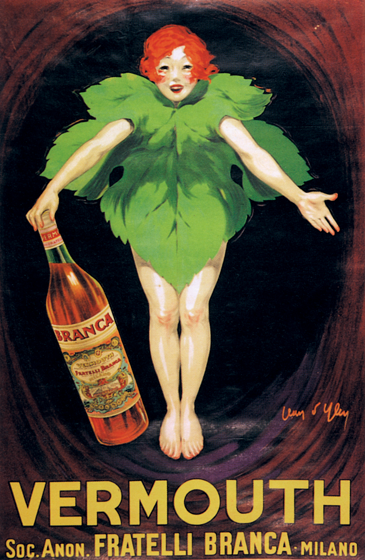 Vermouth Fratelli Branca | Wine and Spirits Art Prints These prints are made at our location in Seattle, WA. They have a thick, white backing board and are sealed in clear bags. Each is suitable for framing at 11 inches x 14 inches or can be used as is for wall display. Our goal is to bring back to life these wonderful illustrations from old-fashioned, children'sbooks and from early advertising art.
