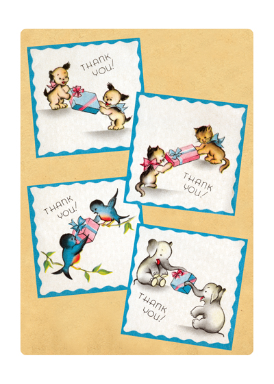 Many Thank Yous | Thank You Greeting Cards OUTSIDE GREETING:  Thank You