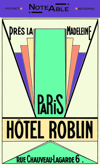 Hotel Roblin - Notepad | Pocket Notebooks ""