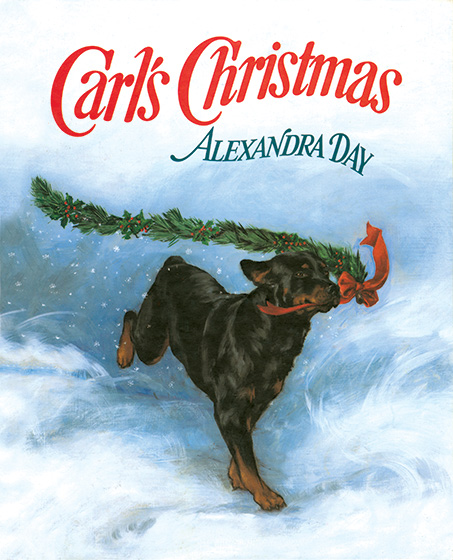 Carl's Christmas (Signed)-SOLD RETAIL ONLY | Good Dog, Carl Books Christmas is a time of wonder and anticipation, especially for this mischievous pair. On Christmas Eve Carl and the baby wrap a present for Mom and Dad. Then out they go for a nighttime frolic until it's time to return home to await Santa's visit. Will he ever come? Of course he does, but it is so late that only Carl is awake to greet him. And that's when the real magic begins.