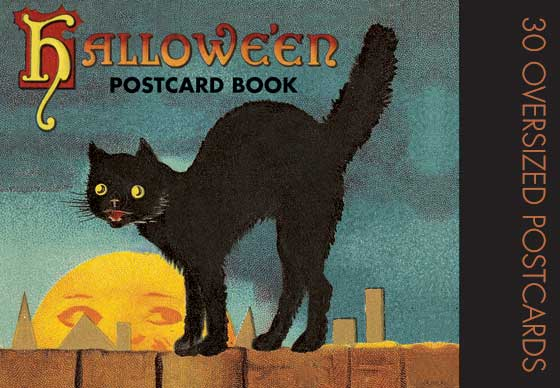 "Halloween Postcard Book | Postcard Books ""Thirty of our favorite Halloween images from the picture postcard's golden era."
