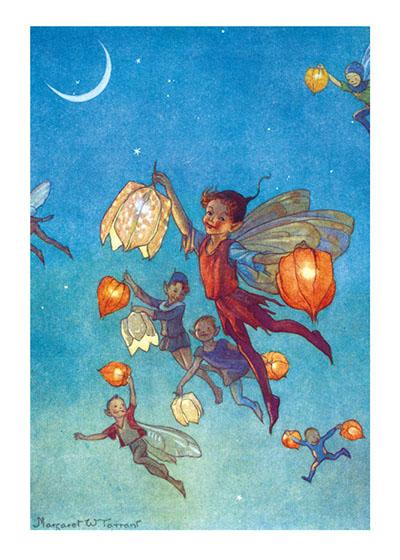 Fairy Lanterns  BLANK INSIDE