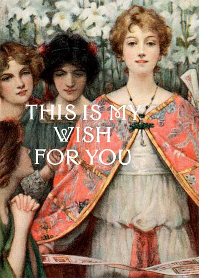 This Is My Wish For You: Mini For many years customers have requested smaller, less expensive editions of our most popular gift titles, and we are happy to announce that we have obliged.  A small book has a special charm; it may be slipped into a pocket or a purse with ease.  Small Blessings will make welcome gifts for those occasions when a small but lovely token is appropriate.   Frequently one wishes to say to another, I wish you the best of everything.  This book delivers this message with power and sincerity.  Welleran Poltarnees has taken Snell's text and selected a painting or illustration for each wish, giving additional life to an already marvelous text.  We assert, without exaggeration, that this is the nearly perfect gift book.  This is a book created to be given.  At its center is a poem by Charles Snell which was written for, and published in, 1914 as a small gift book.  In it the giver, in a series of concrete images, extends the recipient many good wishes.   In our volume, Snell's words are presented within borders made by Daniel Maclise for a book entitled {Moore's Irish Melodies,} published in 1846.  We have selected images to accompany each wish.  These are made by a great variety of painters and illustrators, and range over more than 150 years.  {This Is My Wish for You} is in the tradition of ancient blessings, in which one tries, through the power of language, to throw a mantle of protection and beneficence over the receiver.
