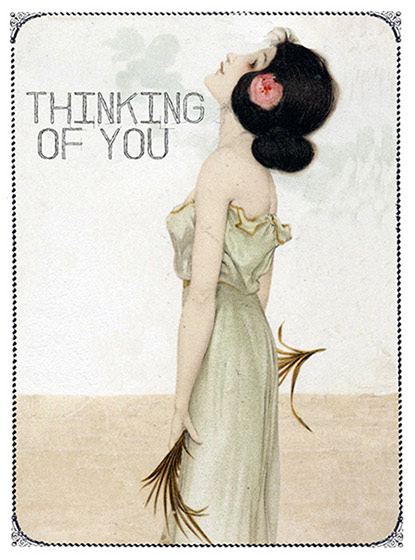 Thinking of You - Greeting Cards | Friendship Greeting Cards Thinking of You (blank inside)
