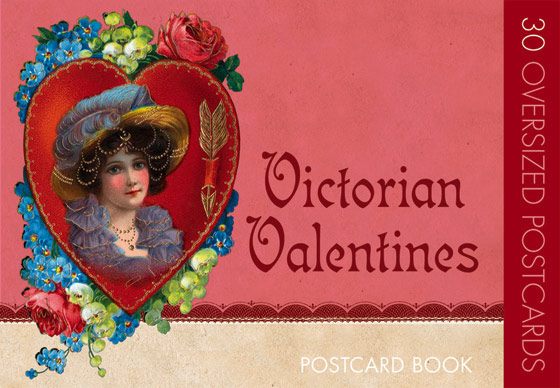 Victorian Valentines Postcard Book | Postcard Books Each age leaves an impact of its character in its greeting cards and other paper ephemera. We see in the beautiful postcards of the late Victorians that era's predilections in both love and design.