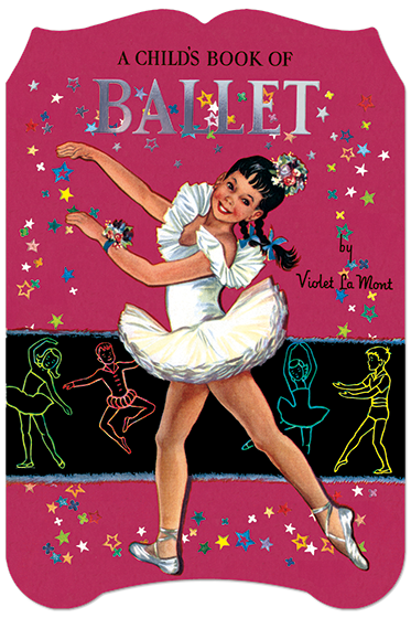 A Child's Book of Ballet This clearly written and beautifully illustrated book, first published in the 1950s, introduces the young dancer to the basic concepts of ballet. It defines the art form, shows the five positions, the seven movements, the carriage of the arms, the plies, the role of the composer and choreographer and more.' {A Child's Book of Ballet} includes a glossary of ballet terms and throughout the text the terms are highlighted, so the young reader can more easily remember them.  {A Child's Book of Ballet} also features a brief history of ballet, its costumes and the world of ballet shoes.' Woven throughout the text are lovely illustrations of boys and girls at practice and in performance.
