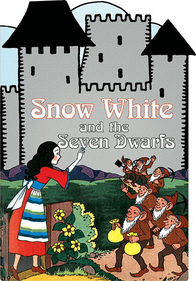 Snow White and the Seven Dwarfs: A Shape Book | Children's Books Would that I had a child as white as snow, as red as blood, and as black as ebony.