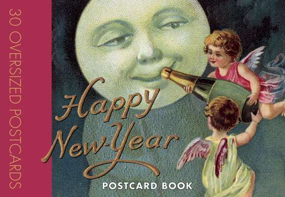 Happy New Year Postcard Book Postcards