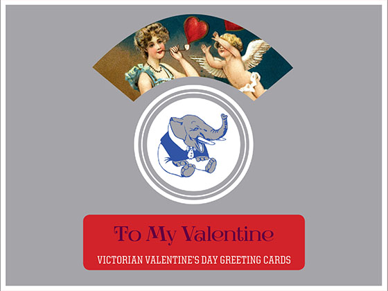 To My Valentine - Victorian Valentine's Day Greeting Cards | Packaged and Boxed Valentine's Day Greeting Cards 8 classic Valentine's Day Greeting Cards from the Victorian era of romance, 2 each of 4 designs with Envelopes.  Valentine's Day will be all the more romantic with notes written on these Victorian themed cards featuring elegant Victorian ladies, hearts and, of course, Cupid.  Made in America with high quality paper, envelopes and packaged in a deluxe, keepsake box.