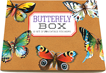 Butterfly Box Sticker Box