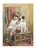 A Faithful Friend (Children's Playtime Children Greeting Cards)