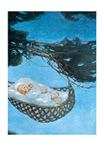 Hush A Bye Baby (Baby Greeting Cards)