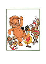 Lion And Friends (Captivating Cats Animals Greeting Cards)