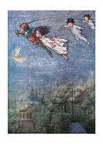Peter Pan and Friends Fly (Friendship Greeting Cards)