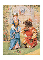 Beauty and the Beast (Storybook Classics Greeting Cards)