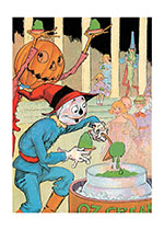 Jack Pumpkinhead and Scarecrow (Storybook Classics Greeting Cards)