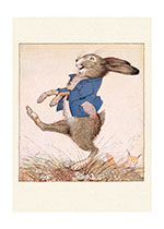 Jaunty Rabbit (Animal Friends Animals Art Prints)