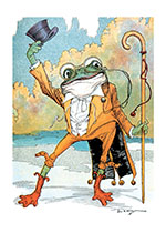 A Frog Doffing His Hat (Storybook Classics Art Prints)