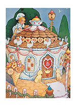 Gingerbread House (Storybook Classics Art Prints)