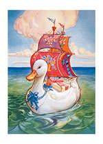 Beautiful Goose With Gifts (Storybook Classics Art Prints)