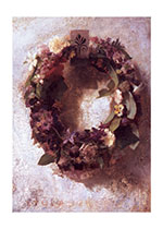 Sympathy Wreath (Sympathy Greeting Cards)