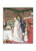 1930's Wedding (Romantic Art Prints)