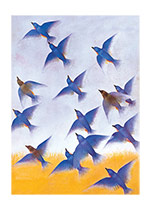 Birds in Flight (Nature's Beauty Art Prints)