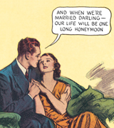 And When We're Married Darling .... (Romance Comics Graphic Design Art Prints)