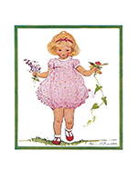 The Perfect Pink Frock (Girls Children Greeting Cards)