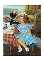 A Birthday Kiss (Birthday Greeting Cards)