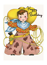Little Cowboy (Birthday Greeting Cards)