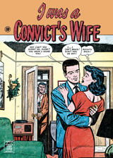 I Was a Convict's Wife (Romance Comics Graphic Design Art Prints)
