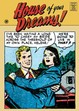 House of Your Dreams (Romance Comics Graphic Design Greeting Cards)