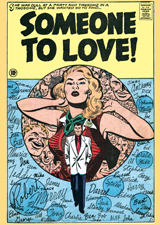 Someone to Love (Romance Comics Graphic Design Greeting Cards)
