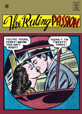 The Ruling Passion (Romance Comics Graphic Design Art Prints)