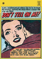 Don't Tell On Me (Romance Comics Graphic Design Greeting Cards)