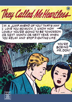 They Called Me Heartless (Romance Comics Graphic Design Greeting Cards)