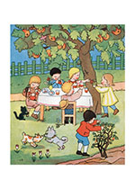 Children's Picnic (Children's Playtime Children Art Prints)