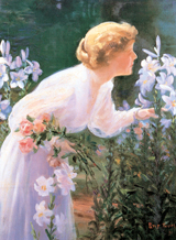 Take Time To Smell The Flowers (Women Greeting Cards)