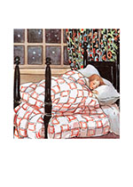 Tucked Into Bed For The Night (Storybook Classics Greeting Cards)