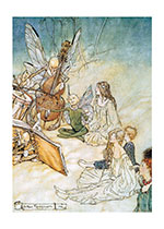 A Fairy Cellist (Fairyland Fairies Greeting Cards)