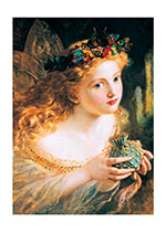 A Fairy Queen With Butterfly Crown (Fairyland Fairies Greeting Cards)