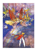 A Fleet of Fairies (Children & Fairies Greeting Cards)