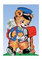Bear Mail Carrier