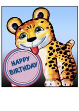 Silly Tiger (Birthday Greeting Cards)