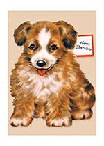 Sweet Puppy (Birthday Greeting Cards)