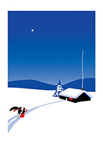 Winter Night (Many More Christmas Greeting Cards)