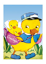 Ducks Bring Greetings (Birthday Greeting Cards)