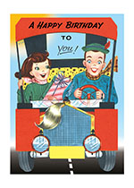 Roadster (Birthday Greeting Cards)